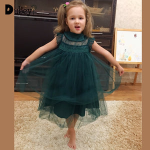 Toddler Girl Party Dress Cotton Lace Vest Gowns Princess Costumes Holiday Dress Up Costume for Kids - ShopeeShipee