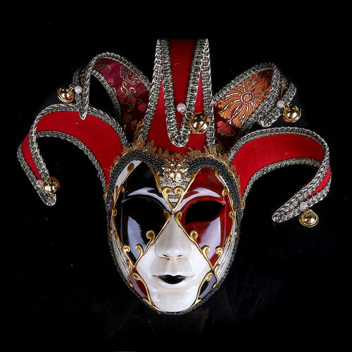 Venice Masks Women Party Mask Festive Supplies Masquerade Mask Christmas Halloween Venetian Costumes Carnival Anonymous Masks - ShopeeShipee