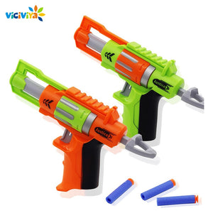 Kids Toys Soft EVA Bullet Toy Gun For N-Strike Bullet Darts Round Head Blasters EP Children Toys with 4 bullets