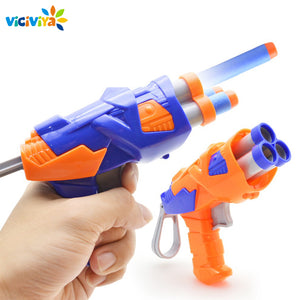 Kids Toys Soft EVA Bullet Toy Gun for Nerf N-Strike Bullet Darts Round Head Blasters EP Children Educational Toys Guns