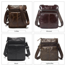 WESTAL Messenger Bag Men Shoulder bag Genuine Leather Small male man Crossbody bags for Messenger men Leather bags Handbags M701