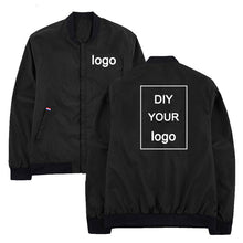 Windbreaker Customized logo print jacket mens jackets hip hop streetwear jacket and coats Stand Collar Men clothes