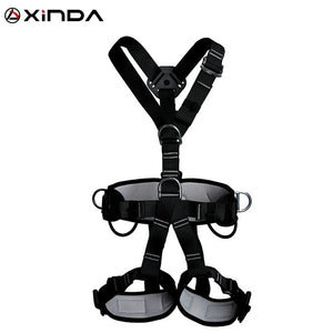 Top Quality Professional Harnesses Rock Climbing High altitude protection Full Body Safety Belt Anti Fall Protective Gear - ShopeeShipee