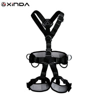 Top Quality Professional Harnesses Rock Climbing High altitude protection Full Body Safety Belt Anti Fall Protective Gear