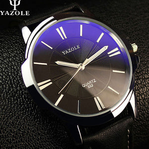 YAZOLE 2018 Fashion Quartz Watch Men Watches Top Brand Luxury Male Clock Business Mens Wrist Watch Hodinky Relogio Masculino - ShopeeShipee