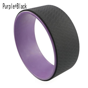 Yoga Circles TPE Pilates Professional Waist Shape Bodybuilding Gym Workout Yoga Wheel Back Training Tool Fitness props