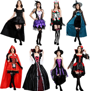 halloween costumes for women fancy dress scary sexy princesse vampire costumes halloween witch men ladies adult Party Carnival - ShopeeShipee