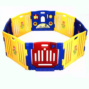 New Baby Playpen Kids 8 Panel Safety Play Center Yard Home Indoor Outdoor Pen  BB4211 | Shopee Shipee Yipee - ShopeeShipee