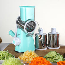 New Round Slicer Graters Vegetable Cutter Manual Potato Carrot Plastic Slicer Cheese Grater Stainless Steel Blades Kitchen Tool | Shopee Shipee Yipee - ShopeeShipee
