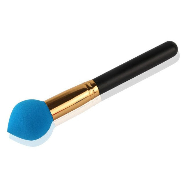2018 new Cosmetic Makeup Brush Sponge Foundation Makeup Brush Powder Puff Brush professional makeup brushes kit pinceis ovais
