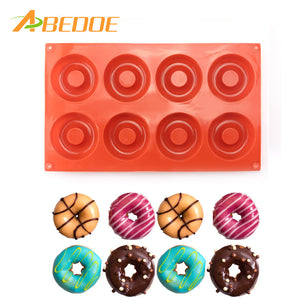 ABEDOE Donut Doughnut Muffin Baking Mold Mould Chocolate Cake Cookie Baking Mold Fondant Candy Cake Bread Desserts Bakery Mould  | Shopee Shipee Yipee