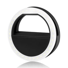 POWSTRO  Portable Flash 36 Led Camera Enhancing Photography Selfie Ring Light for iPhone 6 plus 6s 6 5s 5 4s 4 Samsung Xiaomi  | Shopee Shipee Yipee