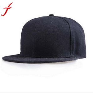 Fashion Unisex Plain Snapback Solid Candy Color Hats Hip-Hop Adjustable Baseball Cap feminino touca menino