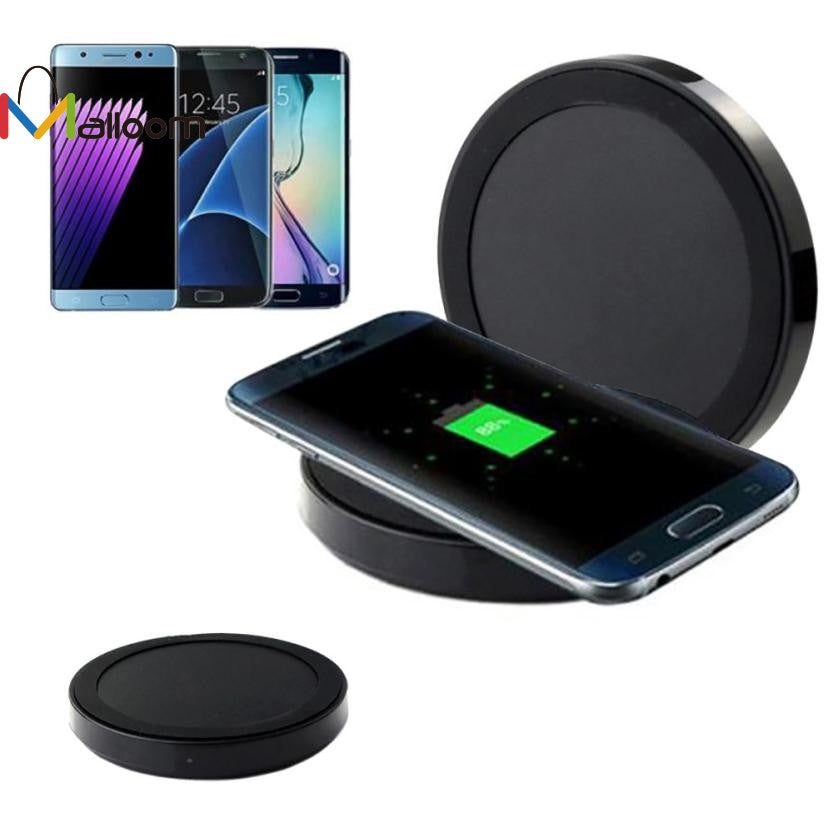 Qi Universal Original for Samsung Fast Wireless Power Charger Charging Pad Quick Wireless Charger For Samsung Galaxy S8/S8 Plus  | Shopee Shipee Yipee