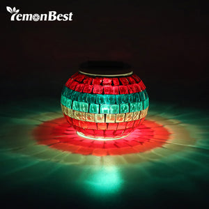 IP65 Glass Ball LED RGB Solar Garden Lights for Landscape Lawn Beach Holiday Christmas Party Decoration Outdoor Lighting  | Shopee Shipee Yipee - ShopeeShipee