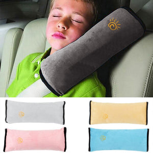 Baby Pillow Pad Car Auto Safety Seat Shoulder Belt Harness Protector Anti Roll Pad Sleep Pillow For Kids Toddler Pillow Cushion