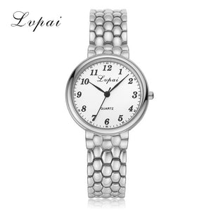 Fashion Dress Watch 2018 New Ladies Women Unisex Stainless Steel Rhinestone Quartz Wrist Watch  | Shopee Shipee Yipee