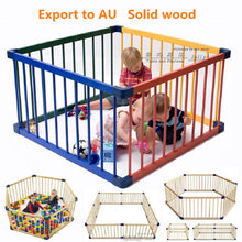 Jollybaby Solid Wood Safety Baby Walker Fence Crawl Baby Game Fence many size healthy baby playpen baby guard