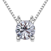 Laser security on the stone! pendant necklaces Made with Austira ELements zirconia jewelry