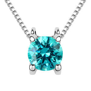 Laser security on the stone! pendant necklaces Made with Austira ELements zirconia jewelry - ShopeeShipee