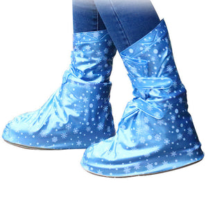 Waterproof Shoe Covers Slip Resistant Rain Shoe Covers