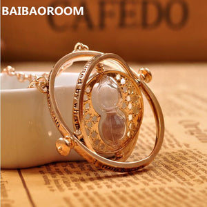 time turner necklace hourglass vintage pendant Hermione Granger for women lady girl wholesale 0131 - ShopeeShipee