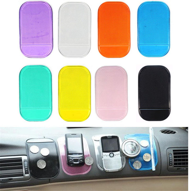 Car Skidproof Mat Car Magic Anti-Slip Dashboard Sticky Pad Non-slip Mat Holder For GPS Cell Phone car-styling accessories hot