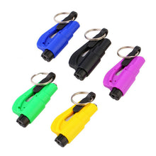 3 in 1 Emergency Mini Safety Hammer Auto Car Window Glass Breaker Seat Belt Cutter Rescue Hammer Car Life-saving Escape Tool
