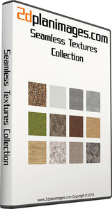 Seamless textures collection, tileable textures, floor plan textures, 2d plan images