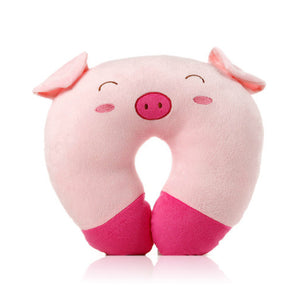 Cute Piggie Travel Pillow