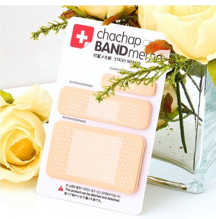 Band-aid Memo Sticky NotePad