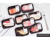 Meat Pack Sticky Memo Pads (50 pages)