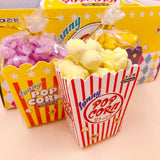 Small Movie Theater Popcorn Erasers (6pcs)