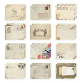 Vintage European Style Mini Paper Envelope (12pcs/set)