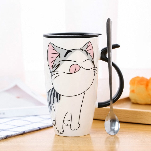 Ceramic Cat Mugs
