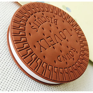 Chocolate Biscuit Sandwich Memo Notepad
