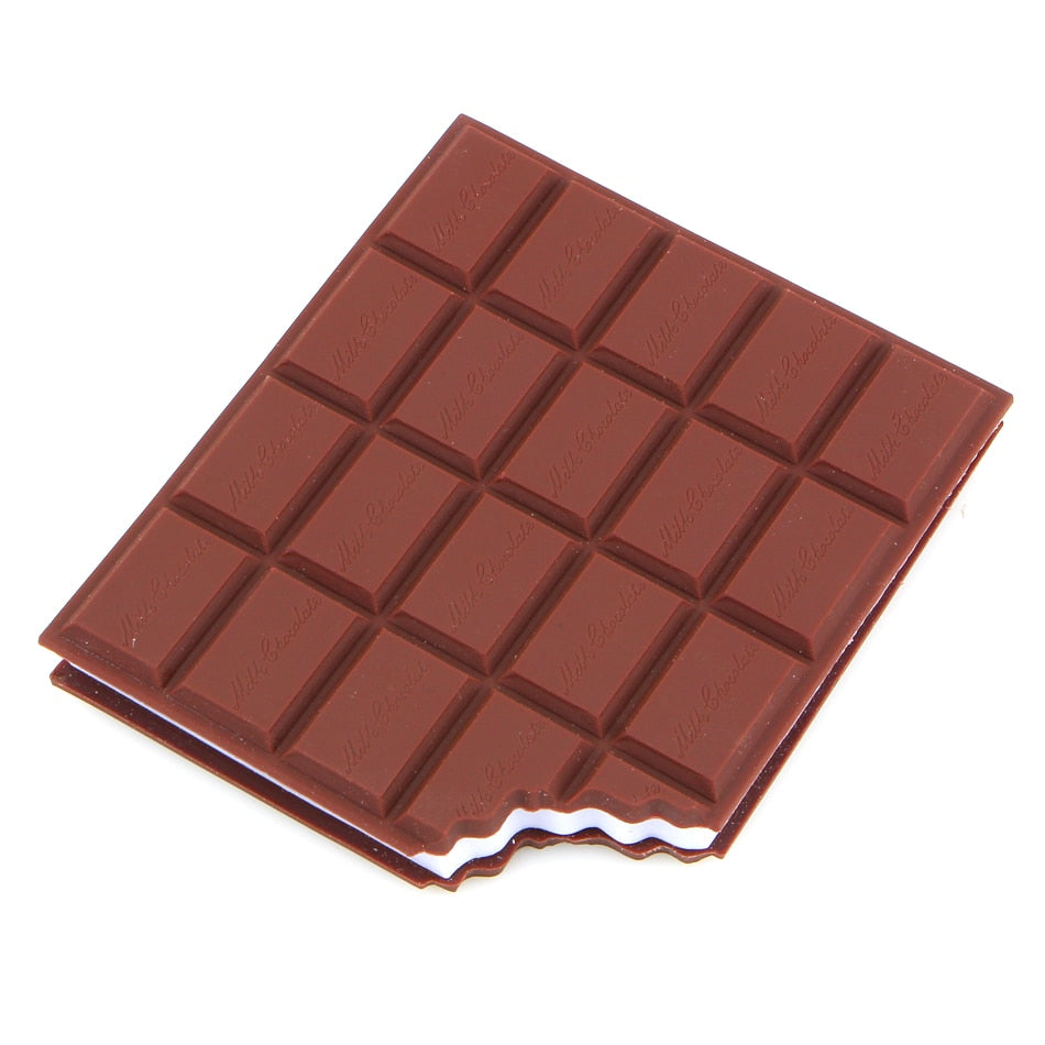 Chocolate Cover Memo Notepad