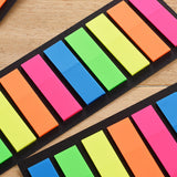 Fluorescent Planning Sticky BookMarker Memo