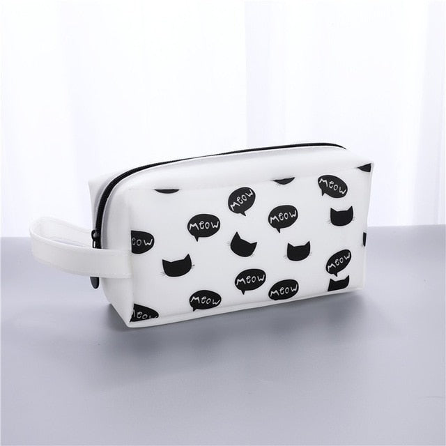 Box-shaped Cat Pencil Case