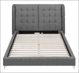 Goleta King  Upholstered Bed with Button Tufted Headboard  C300677
