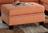 SOFA SECTIONAL IN CITRUS COLOR - F6506