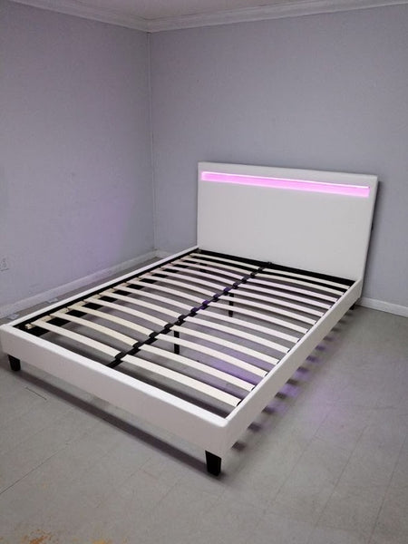 LED LIGHTED BED ROOM SET WITH REMOTE CONTROL - SS837LED