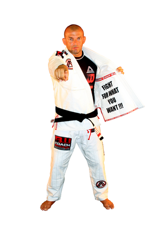 "White ""Official Competition & Training"" Uniform"