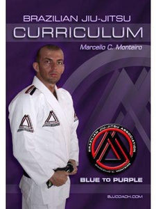 "Blue to Purple Belt ""Step-by-Step"" Curriculum ""Digital DVD's"" (4-Disc Set)"