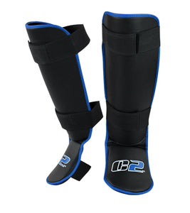 C2 Shin Guards Blue