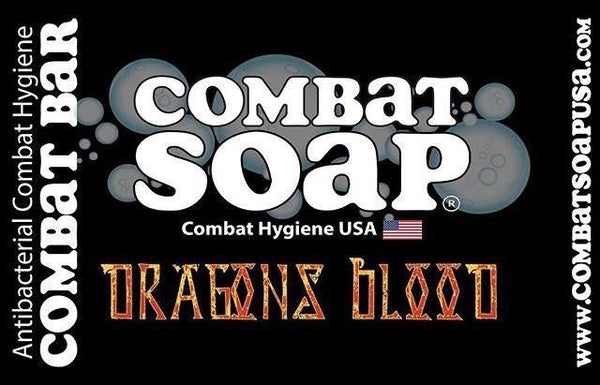 Combat Soap® Antibacterial Combat Bar | Dragons Blood