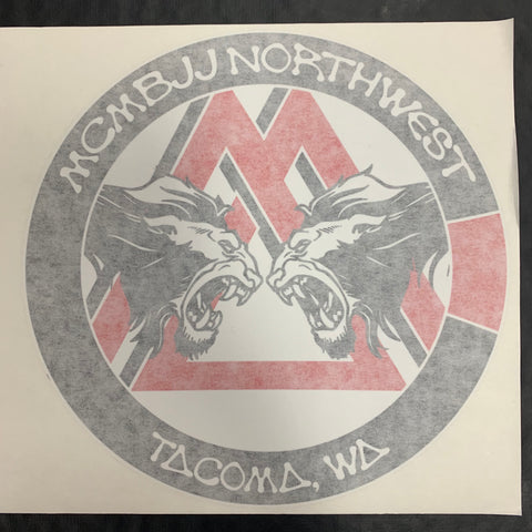 MCMBJJ NORTHWEST DECAL