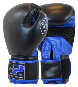 C2 Boxing Gloves w/ XtraFresh Blk/Blue