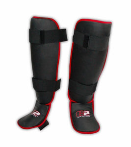 C2 Shin Guards Red