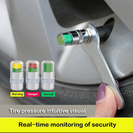 WID™ Tire Pressure Alarm Monitors 4PC Set